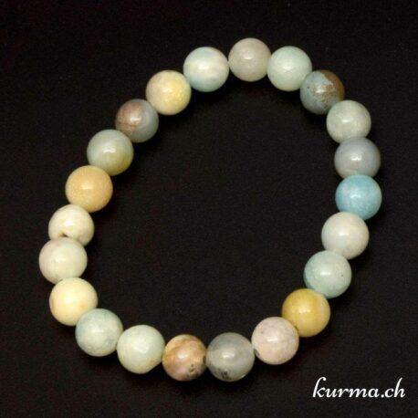Bracelet pour femme en pierre naturel d'amazonite 8mm