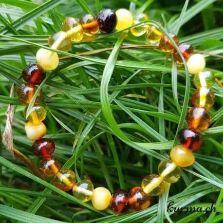 bracelet d'ambre femme parure décoration