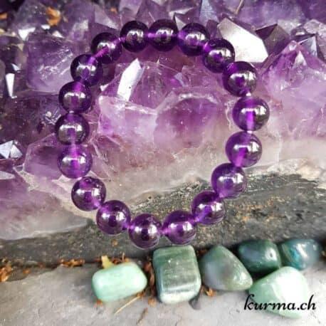 améthyste bracelet femme bijou violet pierre