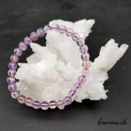amétrine en bracelet pour la lithothérapie