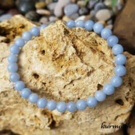 angélite en bracelet angel stone
