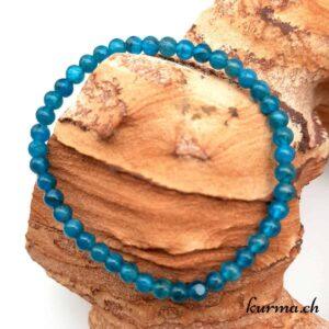 bracelet en perles apatite