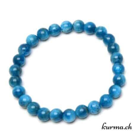 acheter un bracelet en Apatite dans la boutique en ligne kurma. Votre magasin de pierre et minéraux à la chaux de fonds