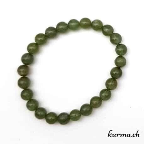 bracelet en apatite verte bien être apaisement bijou motivation