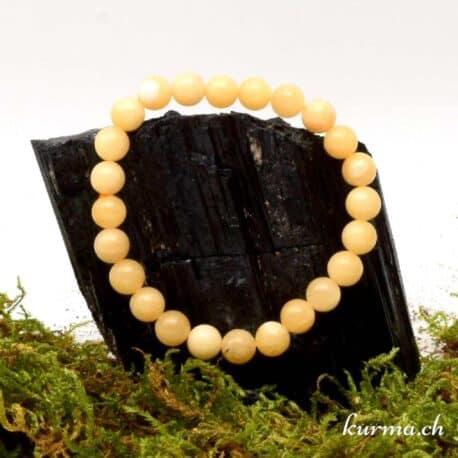 Bracelet Calcite jaune 8mm