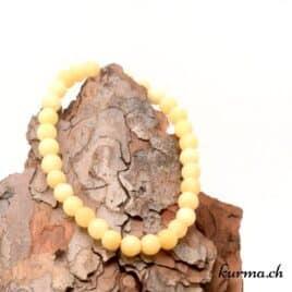 bracelet en perles naturel matte