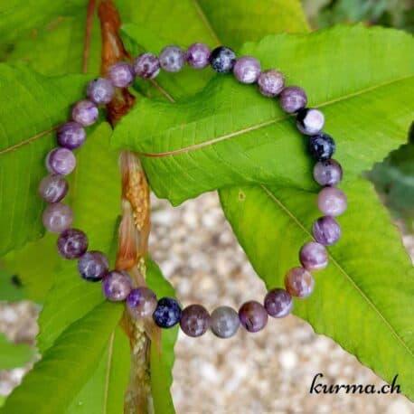 charoïte perles en bracelet bijou pierres stress purifiant sagesse intuition