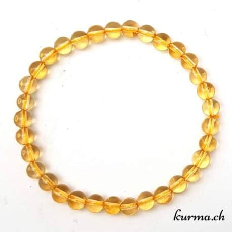bracelet en citrine lithothérapie  pierres bijou  protection purification purifiant