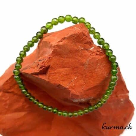 diopside bracelet bijou cristaux fontainemelon lithothérapie vente boutique magasin neuchâtel pierre verte choc affectif chakra du coeur