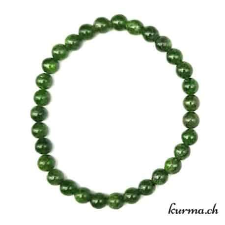 bracelet perles  diopside vert gemme cristal vente neuchâtel suisse magasin
