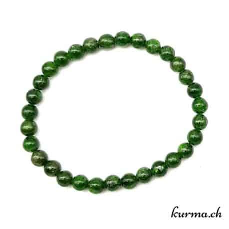 bracelet diopside vert libération chakra du coeur