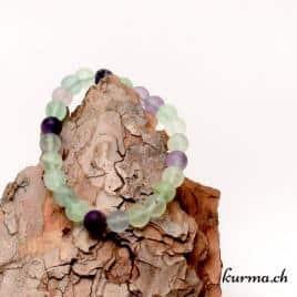 bracelet fluorite verte