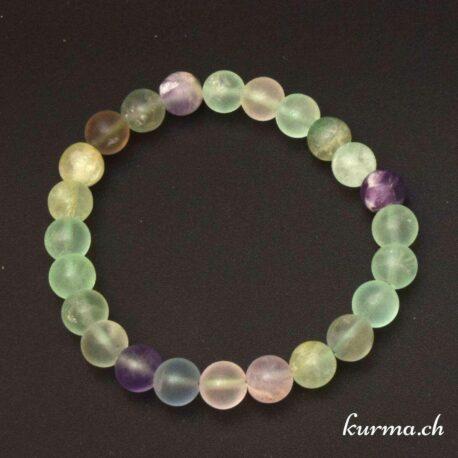 Des braceletes en fluorite matte sont disponible dans la boutique en ligne Kûrma