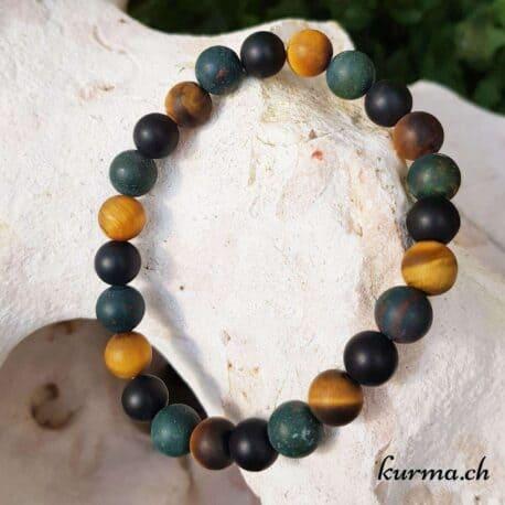 bracelet de perles héliotrope jaspe homme femme vente pierres minéraux  bijou parure femme homme décoration