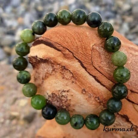 Bracelet Jade du Canada 8mm
