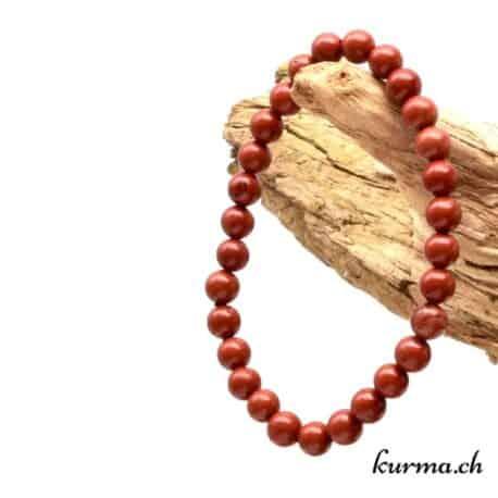 jaspe rouge en bracelet