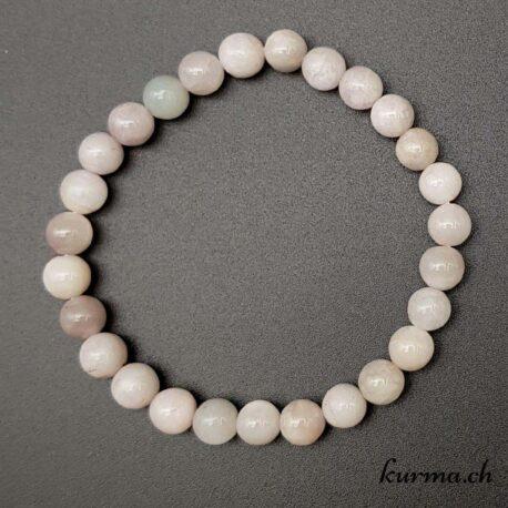 bracelet kunzite quartz minéraux pierres commerce shop fontainemelon neuchâtel lithothérapie bijou parure dépression sérénité