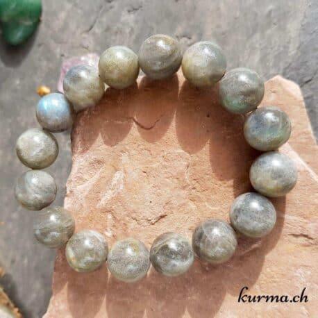 Bracelet Labradorite 12mm
