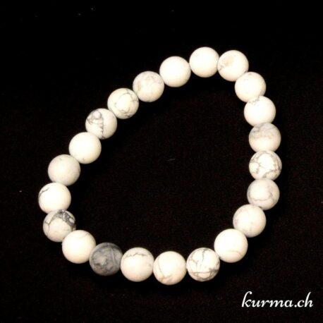 bracelet en pierre naturel de magnésite