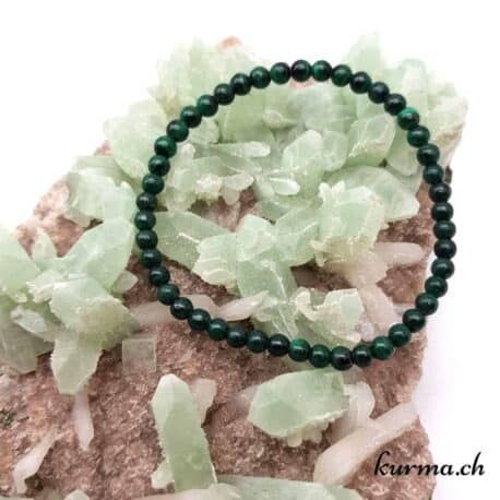 Bracelet en Malachite 4mm