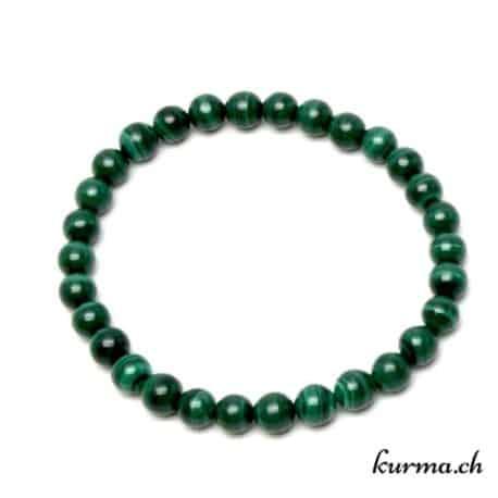 bracelet en pierre naturel de malachite