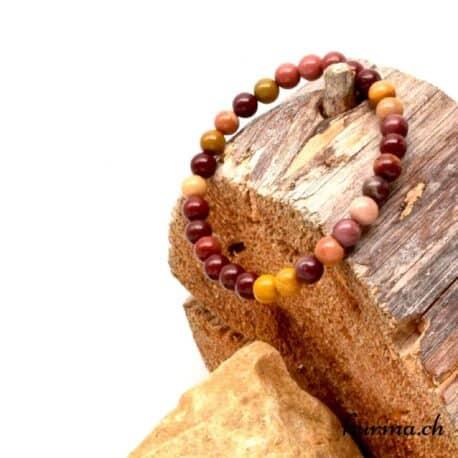 bracelet mookaïte