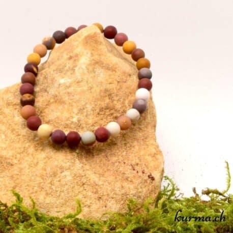mookaïte matte en bracelet
