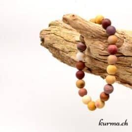 bracelet en pierre naturel de mookäite