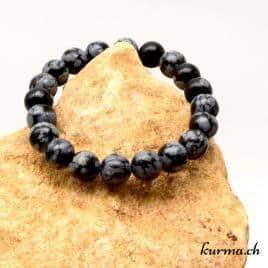obsidienne noire en bracelet
