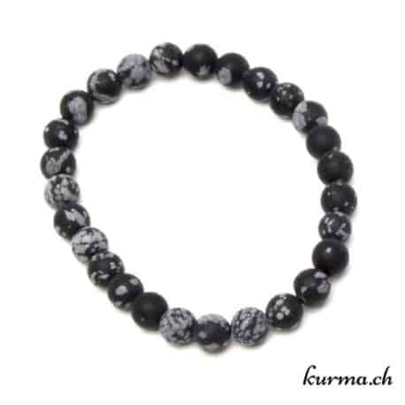 bracelet de protection en obsidienne