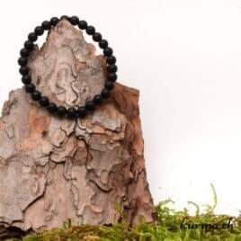 bracelet en onyx matte