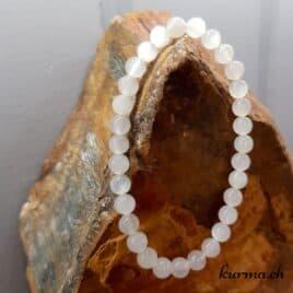 Bracelet Pierre de lune blanche vertus