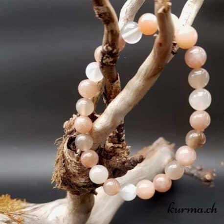 Bracelet Perles de lune 8mm