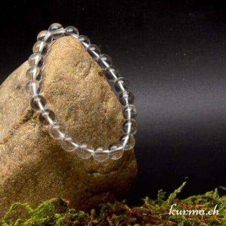 bracelet en pierre naturel de cristal de roche