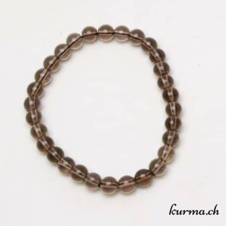 bracelet d'ancrage en quartz fumé