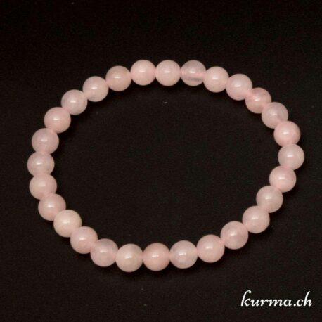 bracelet pour couple en quartz rose
