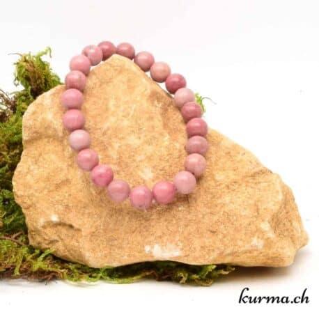 bracelet relaxant en Rhodonite