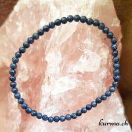Bracelet Saphir bleu 4mm