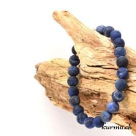 bracelet pour lithothérapie en sodalite