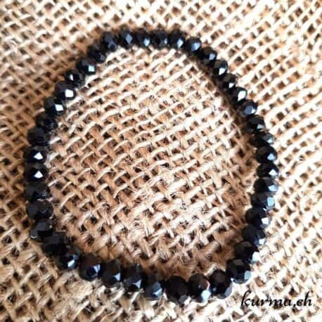 Bracelet Spinelle noir femme