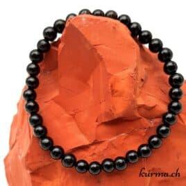 bracelet tectite noire
