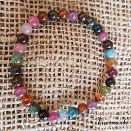 Bracelet Tourmaline multicolore