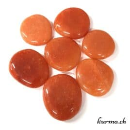 Aventurine Orange – Galet – 4.5 à 5cm – N°5297