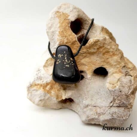 Pyrite-ardoise collier