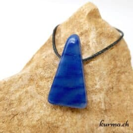 Quartz bleu pendentif