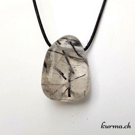 Quartz-tourmaline bijoux