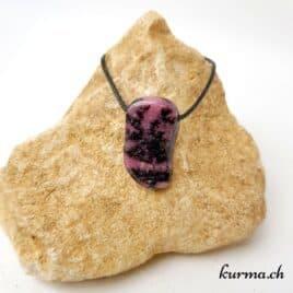 Rhodonite Pendentif pierre percée