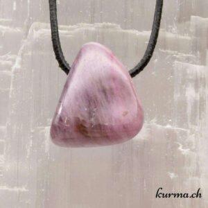 Pendentif en Tourmaline violette