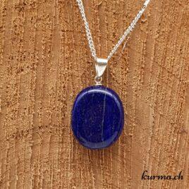 Lapis-Lazuli pendentif pour femme en argent