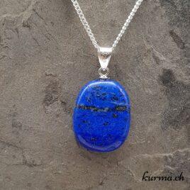 Lapis-Lazuli pendentif en argent